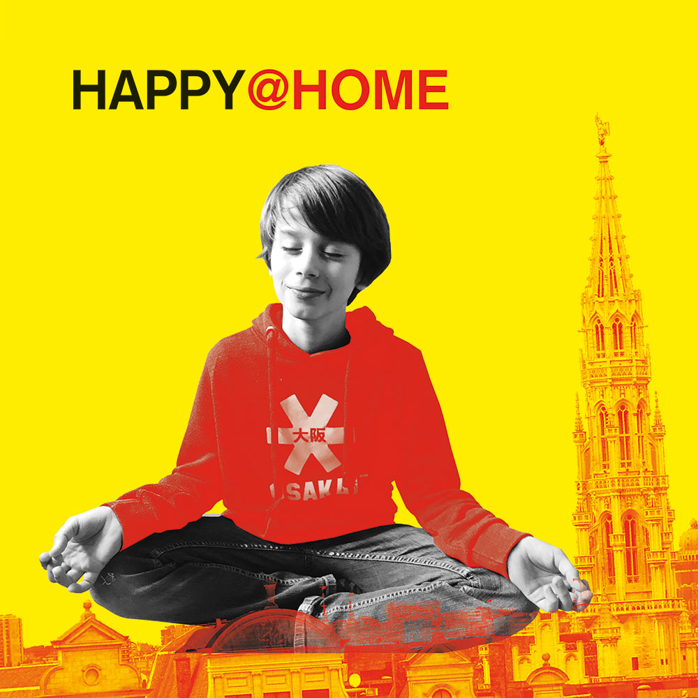 happy at home Bruxelles